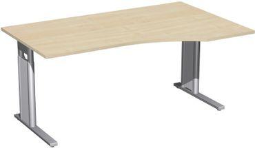 C-Fuß Pro Freiformtisch, höhenverstellbar, verschiedene Größen und Farben – Bild 6