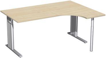 C-Fuß Pro Kompakt-Schreibtisch, höhenverstellbar, verschiedene Größen und Farben – Bild 6