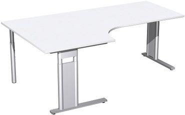 C-Fuß Pro Kompakt-Schreibtisch, höhenverstellbar, verschiedene Größen und Farben – Bild 23
