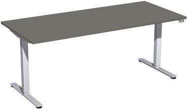 Elektro Smart Motor Schreibtisch, elektrisch höhenverstellbar, verschiedene Größen und Farben – Bild 1