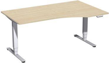 Elektro Pro+ Motor Freiformtisch, elektrisch höhenverstellbar, verschiedene Größen und Farben – Bild 25