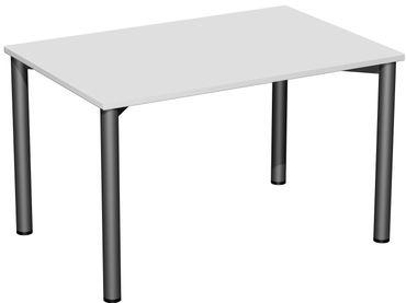 4 Fuß Flex Schreibtisch, gerade, verschiedene Größen und Farben – Bild 20