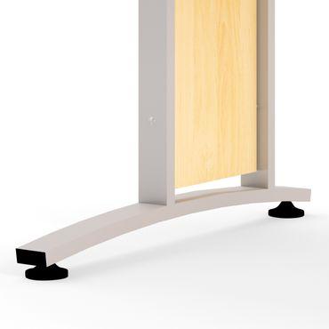 Prima Schreibtisch 150 x 80 cm Ahorn – Bild 4