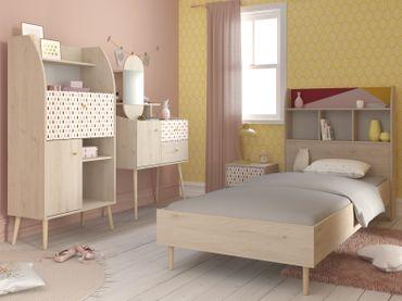 Anna 3 - 5-tlg Kinderzimmer Set Eiche Brooklyn – Bild 1