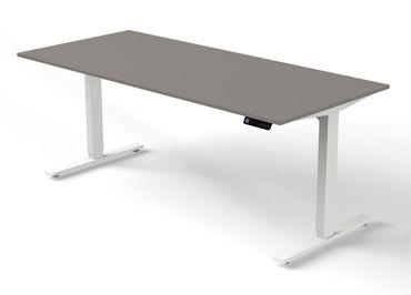 Move 3 Steh-/Sitztisch, gerade, elektrisch höhenverstellbar, verschiedene Größen, Grafit – Bild 2