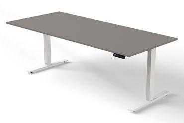 Move 3 Steh-/Sitztisch, gerade, elektrisch höhenverstellbar, verschiedene Größen, Grafit – Bild 3