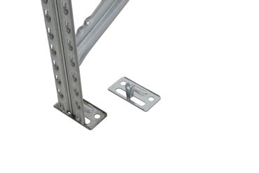 Schwerlastregal 200x100x40 cm Grau – Bild 4
