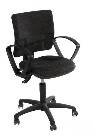 Bürodrehstuhl ohne Armlehnen, Anthrazit – Bild 1