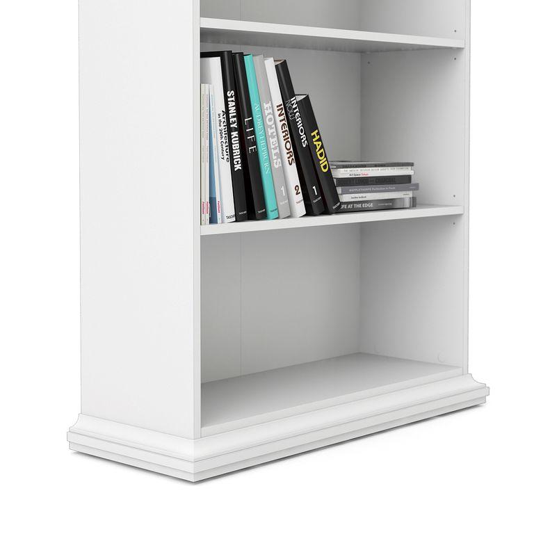 Paris Bücherregal Weiß