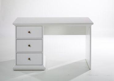 Paris Schreibtisch Tisch Bürotisch Home Office Weiß – Bild 1