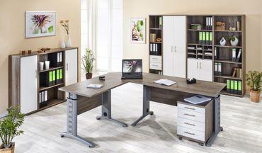 Aktenschrank Büromöbel Büroschrank 5 OH Schrank Trüffel – Bild 2