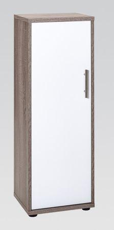 Aktenschrank Büromöbel Büroschrank 3 OH Schrank Trüffel – Bild 1