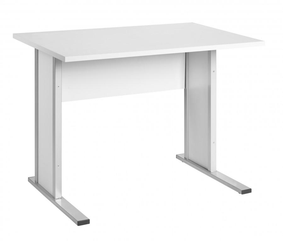 Computertisch Schreibtisch Bürotisch Büro Tisch Hellgrau Günstig