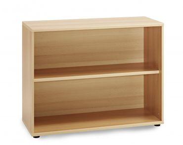 Aktenregal Bücheregal Büroregal 2 OH Regal Buche – Bild 1
