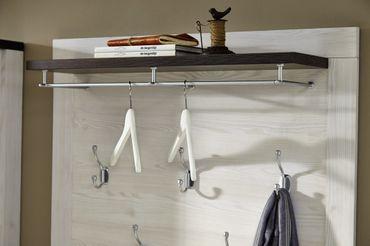 TRONDHEIM Garderobe Komplettset Lärche Garderobenkombination Garderobenset – Bild 3