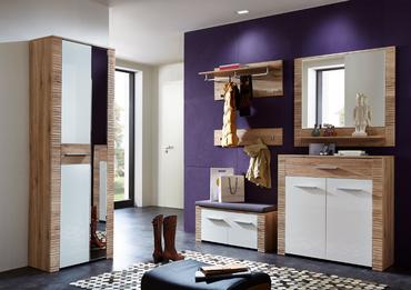 cleveland schuhschrank san remo eiche hell dekor. Black Bedroom Furniture Sets. Home Design Ideas