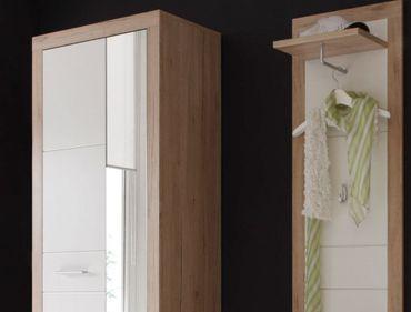 3 tlg Garderobe Can Can Dielenmöbel Kompaktgarderobe San Remo CanCan – Bild 2