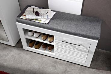 LYON Garderoben-Kombination Garderobe Garderobenschrank Garderobenset – Bild 4
