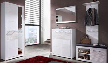 LYON Garderoben-Kombination Garderobe Garderobenschrank Garderobenset – Bild 1
