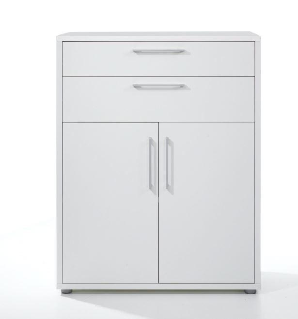 Büroschrank weiß  Prima Aktenschrank 3 OH Weiß Büro Büroschränke Aktenschränke 3 ...
