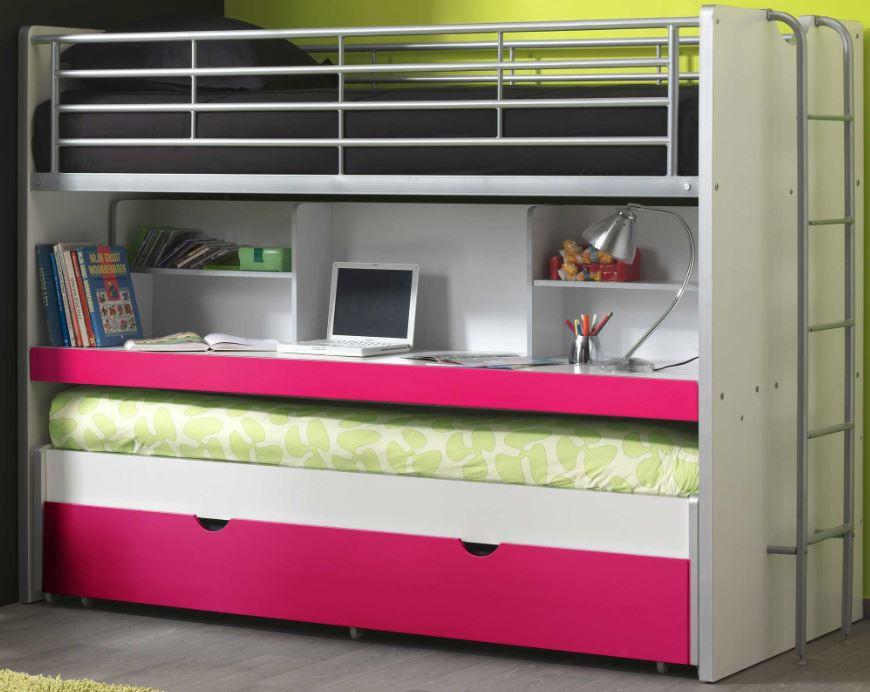 Etagenbett Liegefläche 80 180 : Etagenbett bonny kinderbett 3 liegeflächen bett funktionsbett