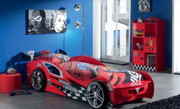 Autobett Grand Turismo Kinderbett Bett Rot – Bild 2
