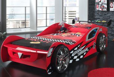 Autobett Grand Turismo Kinderbett Bett Rot – Bild 1