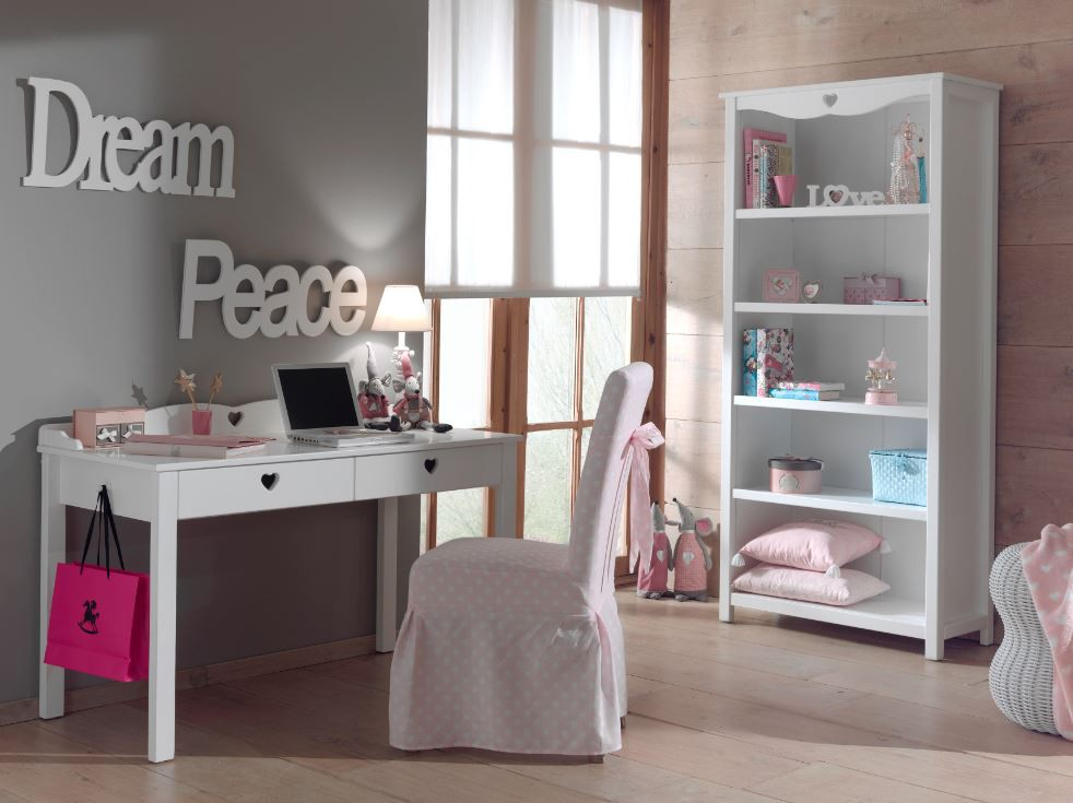 schreibtisch regal set amori kinderzimmer jugendzimmer. Black Bedroom Furniture Sets. Home Design Ideas