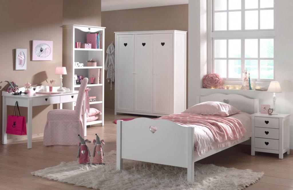 Amori 5-teiliges Kinderzimmerset 2 Weiß