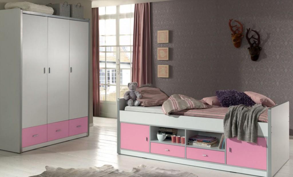 Kinderzimmer Bonny Kojenbett Mit Kleiderschrank Kinderbett Bett