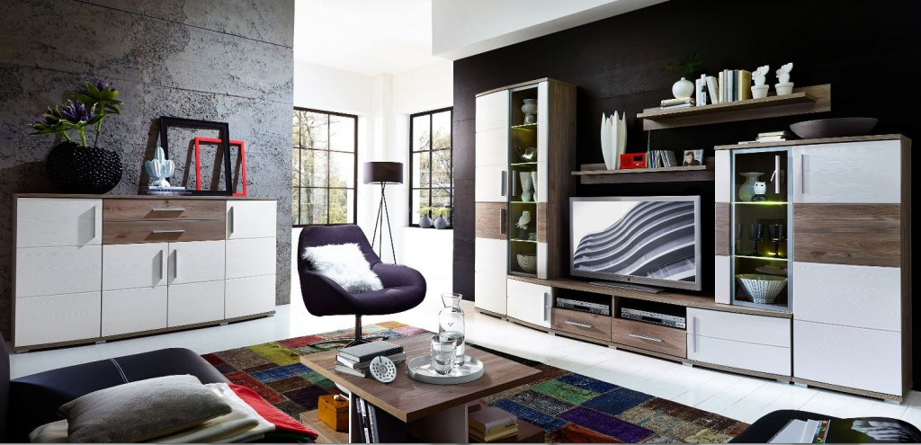 wohnzimmer komplett set my blog. Black Bedroom Furniture Sets. Home Design Ideas