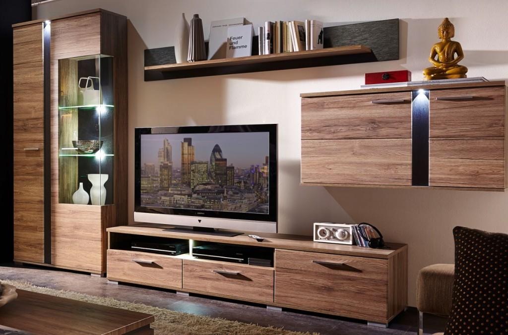 spot wohnkombination tv kombination wohnwand wohnzimmer. Black Bedroom Furniture Sets. Home Design Ideas