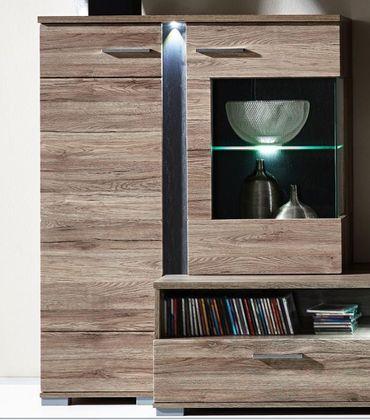 Spot Wohnkombination TV-Kombination Wohnwand Wohnzimmer-Set – Bild 5