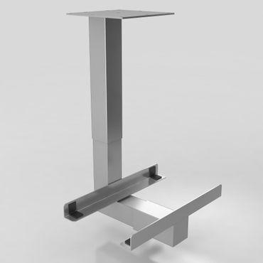 PC-Halter Silber