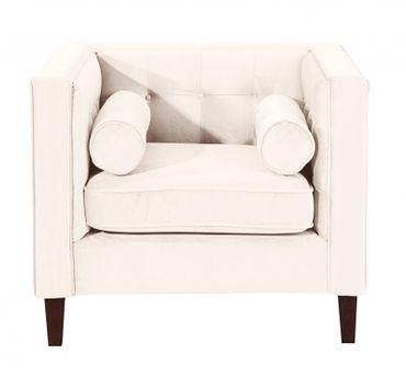 BLACKBURN Sofagarnitur Couchgarnitur Sofa Garnitur Samtvelour Creme – Bild 5