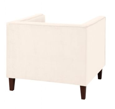 BLACKBURN Sofagarnitur Couchgarnitur Sofa Garnitur Samtvelour Creme – Bild 6