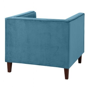 BLACKBURN Sofagarnitur Couchgarnitur Sofa Garnitur Samtvelour Petrol – Bild 6