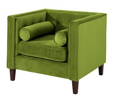 BLACKBURN Sofagarnitur Couchgarnitur Sofa Garnitur Samtvelour Olivgrün – Bild 2