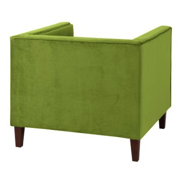 BLACKBURN Sofagarnitur Couchgarnitur Sofa Garnitur Samtvelour Olivgrün – Bild 6