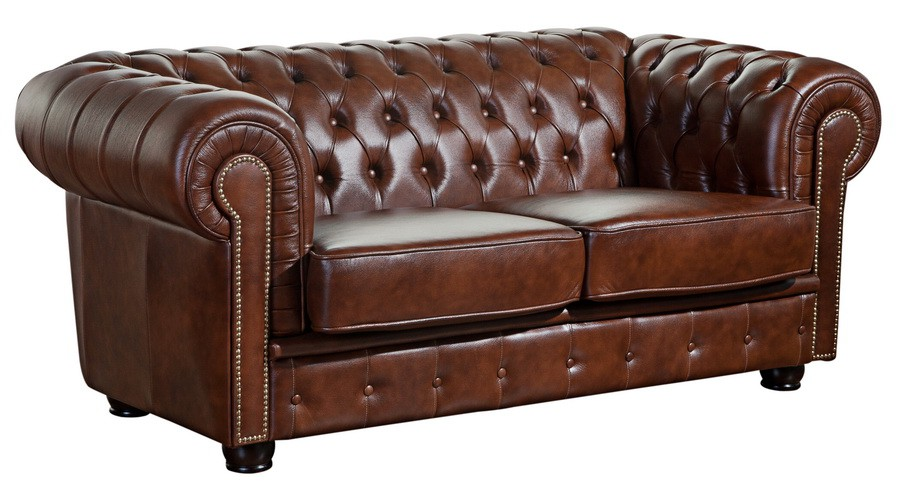 mansfield sofagarnitur chesterfield couchgarnitur sofa leder braun polsterm bel chesterfield. Black Bedroom Furniture Sets. Home Design Ideas