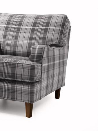 KINGSWOOD Sofagarnitur Couchgarnitur Sofa Garnitur Flachgewebe Grau – Bild 6