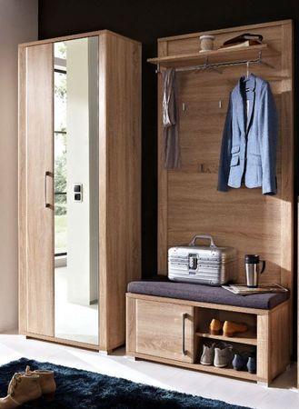 3 tlg GREENVILLE Garderobenkombination Garderobe Garderobeset Garderobenkomplettset – Bild 1