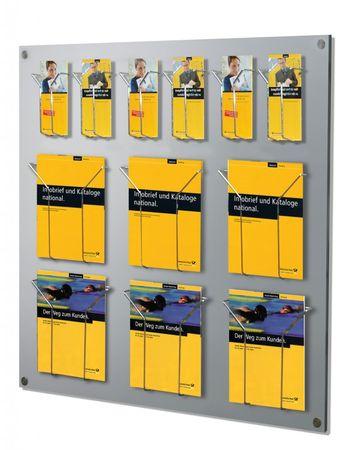 Focus Prospekthalter Wand-Prospekthalter Präsentationsmittel – Bild 1