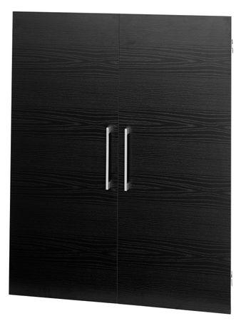 Prima 2x Türen Esche Schwarz – Bild 1