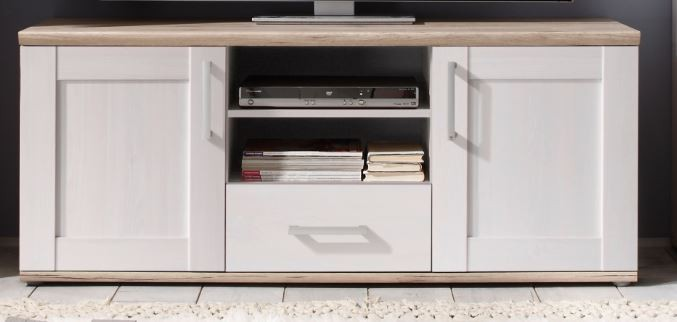 sonderpreis romance wohnwand anbwauwand wohnzimmer set wohnkombination wei ebay. Black Bedroom Furniture Sets. Home Design Ideas