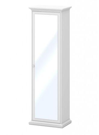 Paris Kleiderschrank Spiegeletürenschrank Schrank Schlafzimmer Weiß – Bild 1
