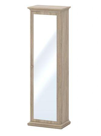 Paris Kleiderschrank Spiegeletürenschrank Schrank Schlafzimmer Eiche Struktur – Bild 1