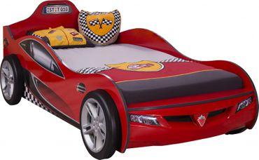 Cilek COUPE Autobett Kinderbett Bett Rennfahrerbett Rot – Bild 1