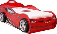 Cilek COUPE Autobett Kinderbett Bett Ausziehbett Rennfahrerbett Rot