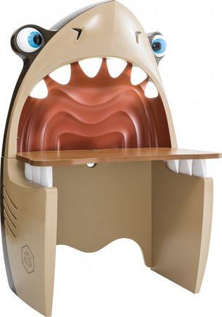 Cilek PIRATE Shark Computertisch Hai Schreibtisch Tisch Kinderzimmer Haifisch – Bild 2